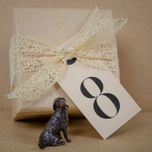 8th Wedding Anniversary Miniature Bronzes
