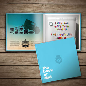 Personalised 'Book Of Dad' - keepsake books