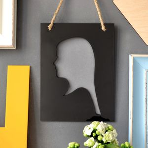 Personalised Adult Silhouette Artwork - photography & portraits