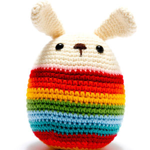 Knitted Easter Bunny - view all easter