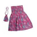 Travel Tube Dress/Skirt in Pink Paisley
