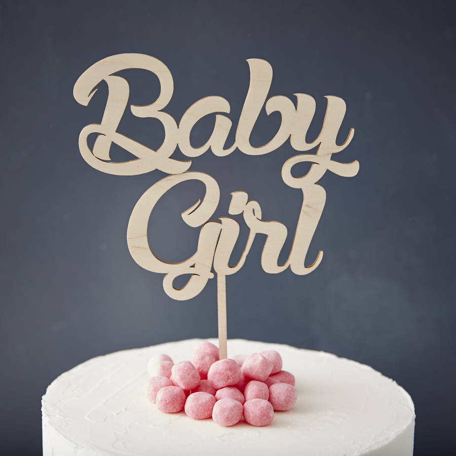 Cake Toppers Baby Girl :  baby girl  baby shower cake topper by sophia victoria joy ...
