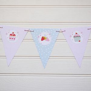 Cupcake Bunting - baby & child sale