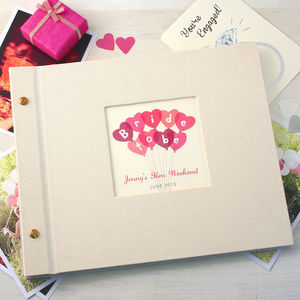 Personalised Hen Party Photo Album - bright & bold hen party