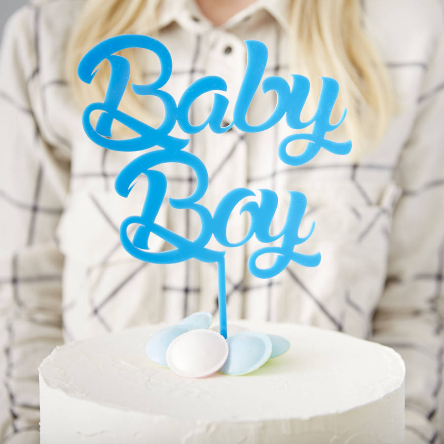 Cake Toppers Baby Boy :  baby boy  baby shower cake topper by sophia victoria joy ...