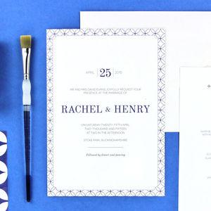 Henry Wedding Stationery