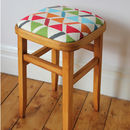 Colourful Retro Stool