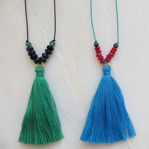 Anjuna Tassel Necklace