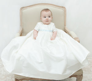Boys Silk Christening Gown 'Harry'