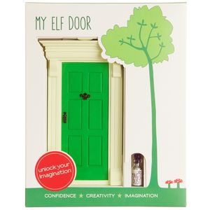 My Green Elf Door
