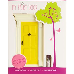 My Yellow Fairy Door