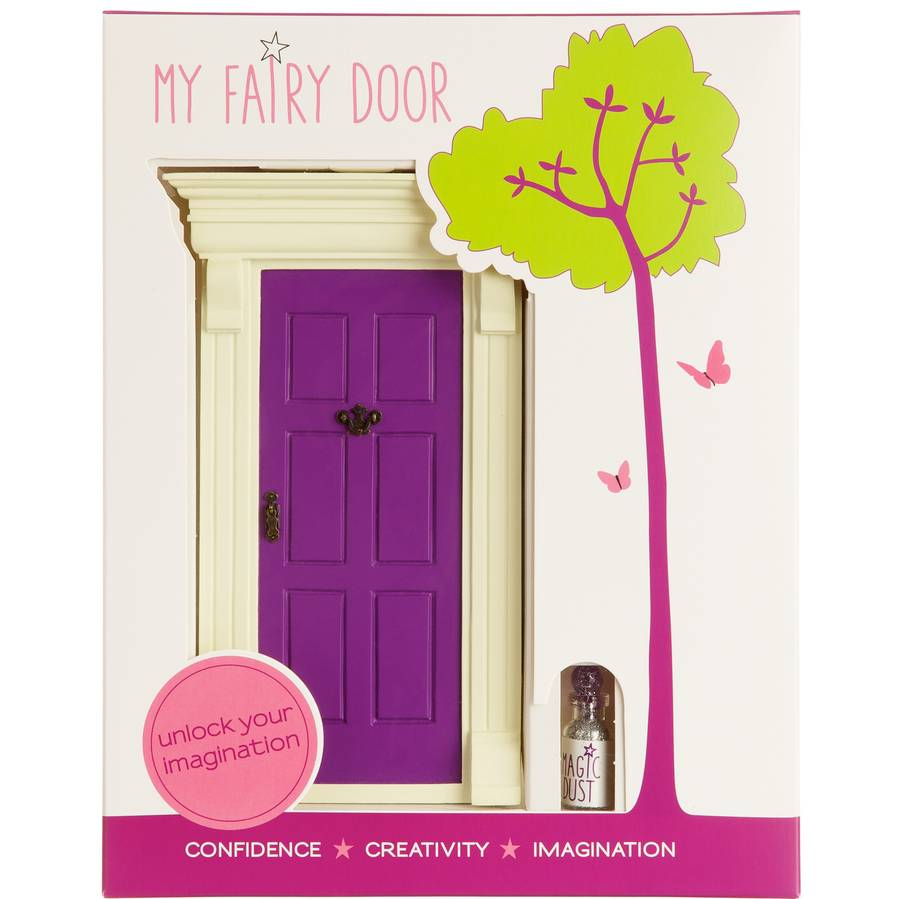 My purple fairy door by cheeky elephant for Original fairy door