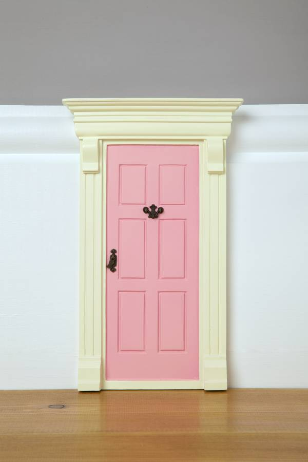 My pink fairy door by cheeky elephant for Original fairy door