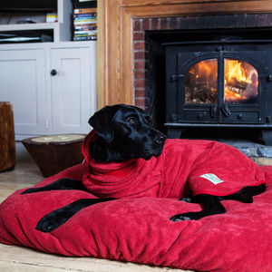 Fitted Dog Bed Cover