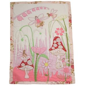 Personalised Fairy Quilt And Bunting - soft furnishings & accessories
