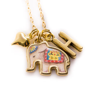 Elephant Charm Necklace - women's jewellery
