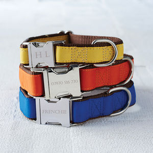 Personalised Dog Collar - pet collars