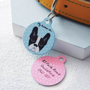 Personalised Pet Name Tag - battersea dogs & cats home collection
