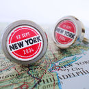 Personalised Travellers Cufflinks