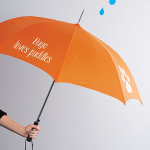 Personalised Dog Umbrella - pet-lover