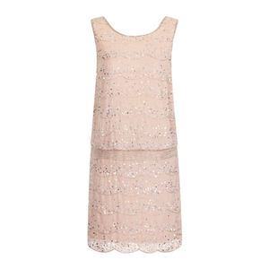 Priya Sequin Drop Waist Dress