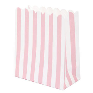 Pink Mini Sweet Bags - favour bags, bottles & boxes