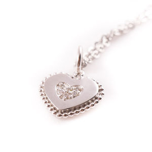 Heart Charm Necklace - women's jewellery