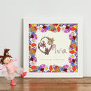 Personalised 'Fairy Initial' Children's Print
