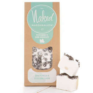 Peppermint And Dark Chocolate Marshmallows - wedding favours