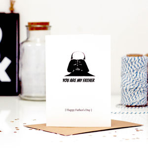 Darth Vader Star Wars Fathers Day Card
