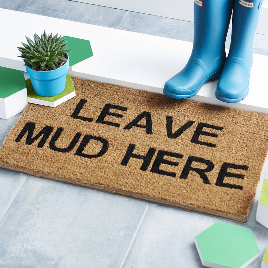 Personalised Doormat By The Letteroom Notonthehighstreet Com