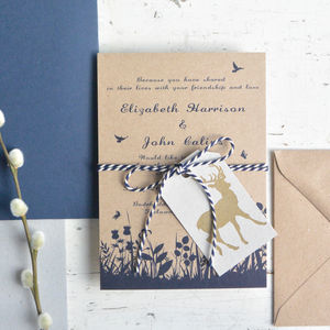 Mid Summer Wedding Invitation