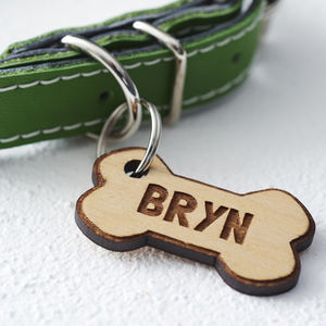 Bone Dog Tag - best collars & tags