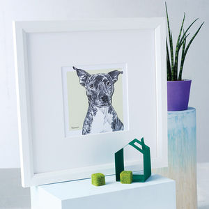 Bespoke Pet Portrait - battersea dogs & cats home collection
