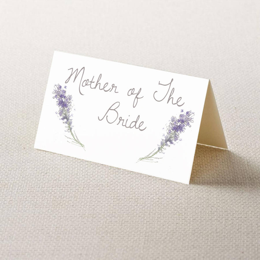 Wedding place cards by homemade house for Place card for wedding