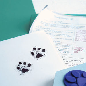 Inkless Pet Paw Print Kit - personalised