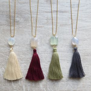 Kiki Tassel Necklace - women's jewellery