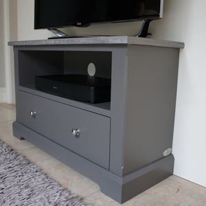 Ashford Slimline Tv Media Stand In Choice Of Colours - furniture