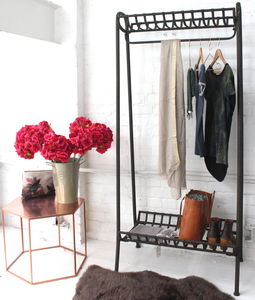 Iron Clothes Rail - stands, rails & hanging space