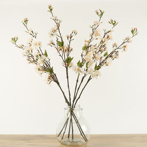 Pink Spring Blossom Stem - home sale
