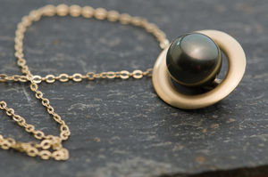 Tahitian Pearl Necklace - jewellery for women