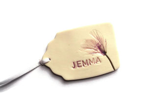 Personalised Gift Tags Place Setting Wedding Favours - wedding stationery
