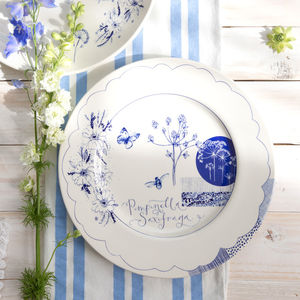 Wild Garden Sketches Plate - tableware