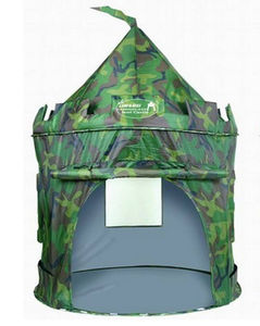 Deluxe Camouflage Pop Up Tent