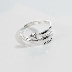 Silver Chiko Arrow Ring
