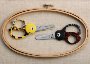 Children's Scissors. Bumble Bee And Lady Bird Shape