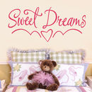 Sweet Dreams Kids Bedroom Wall Sticker