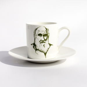 Darwin Espresso Cup And Saucer - cups & saucers