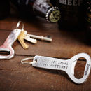 Personalised Aluminium Bottle Opener