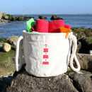 Beach Bag With A Nautical Lighthouse Design